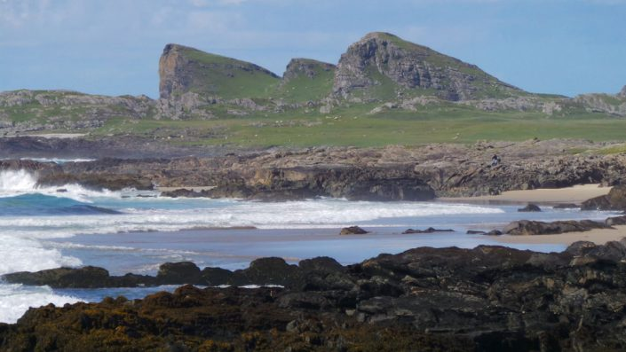Gruinart Farmhouse Photo Gallery - Islay Holiday House - View from Saligo Bay