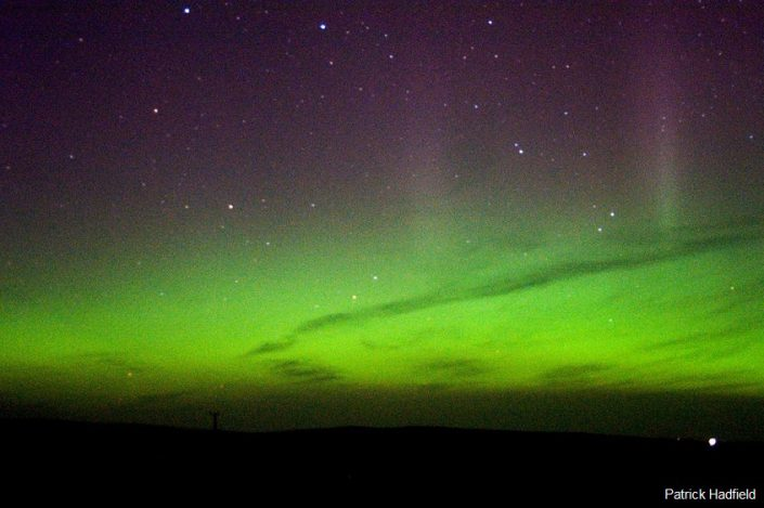 Gruinart Farmhouse Photo Gallery - Islay Holiday House - Aurora Borealis at Loch Gruinart